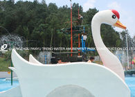 চীন Customized Fiberglass Small Water Pool Slides Designed For Water Park Games কারখানা