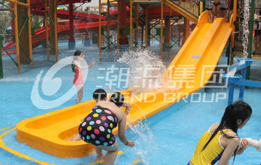 চীন Mini Water Park Kids' Water Slides Colorful Fiberglass Swimming Pool Slide কারখানা