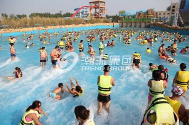 চীন Family Water Park Wave Pool Equipment , Fiberglass Aqua Park Products Machine কারখানা