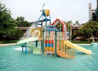 6.5 M Kids Water House / Water Playground Equipment for Swimming Pool in Aqua Park