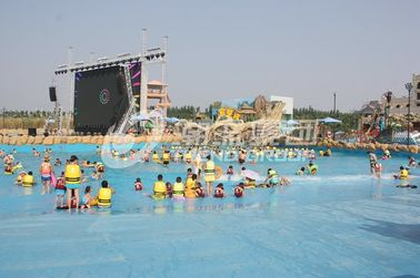 চীন Water Park Wave Pool Equipment , Waterpark Wave Machine For Family Fun in Aqua Park কারখানা