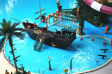 চীন Sea World Meters Cube-Trend Waterpark Project , Large Indoor Water Wark কারখানা