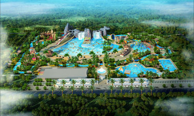 চীন Safety Large Scale Waterpark Project Design For Outdoor Water Theme Park কারখানা