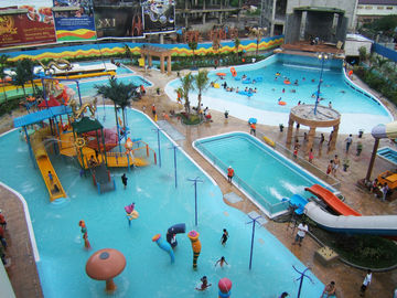 Indonesia Medan Waterpark Project Adventruous Indoor Waterpark Equipment